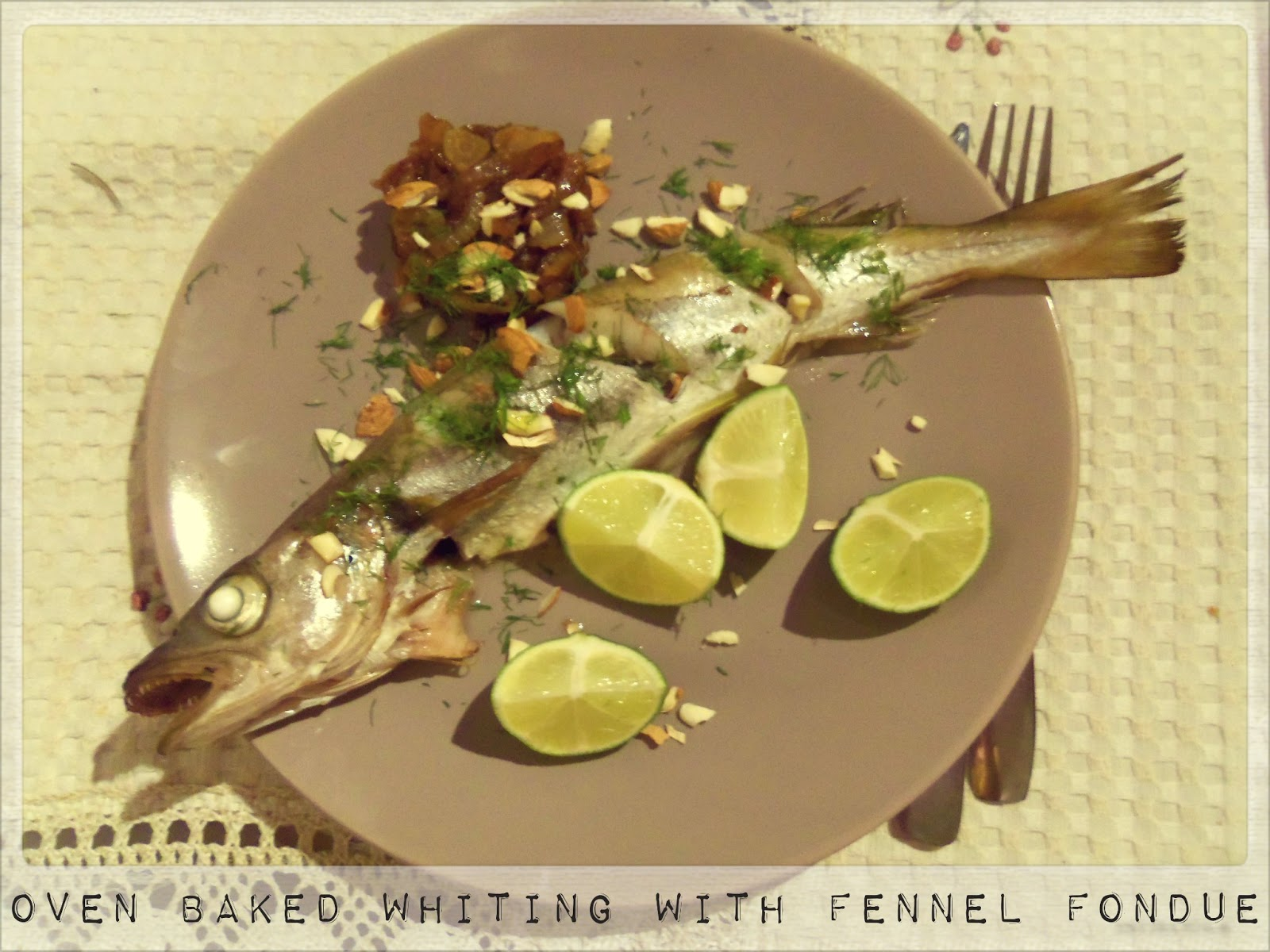 You 39 ve got meal oven baked whiting with fennel fondue for How to cook whiting fish