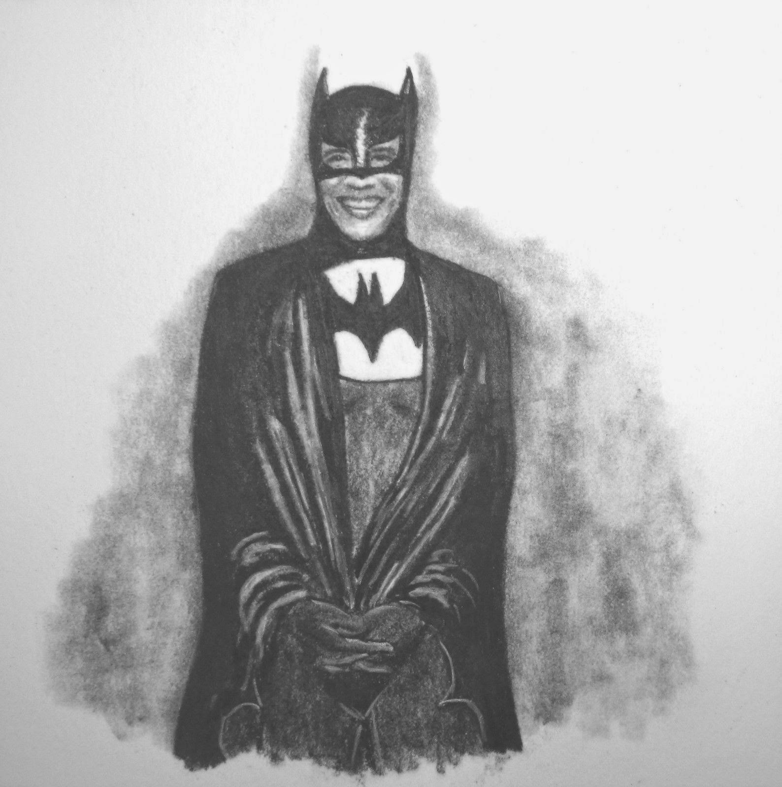Barack Obama as The Batman by F. Lennox Campello