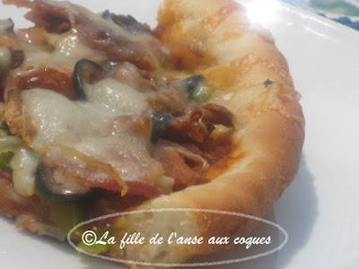 CROÛTE  À PIZZA AVEC LEVURE À PIZZA