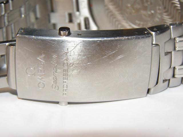 Omega Seamaster 2531.80 clasp