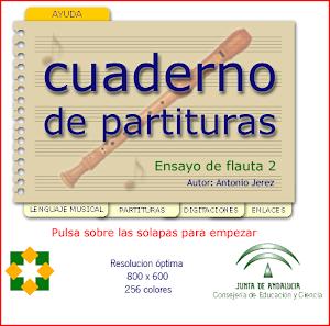 CUADERNO DE PARTITURAS