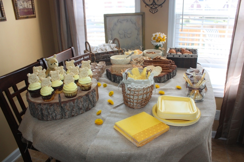 christy robbins  winnie the pooh baby shower