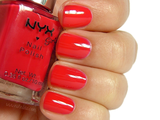 NYX Girls - Cranberry Red