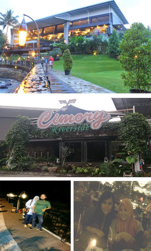 Dua Nama Tempat Wisata Kuliner Pinggir Sungai Di Bogor