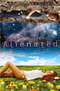 Alienated Melissa Landers book cover