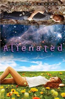 Alienated Melissa Landers book cover