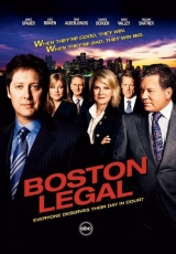 Carátula del DVD Boston Legal