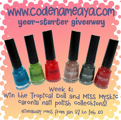 CodenameAya's 2013-Starter Giveaway Part 1: For the Nails