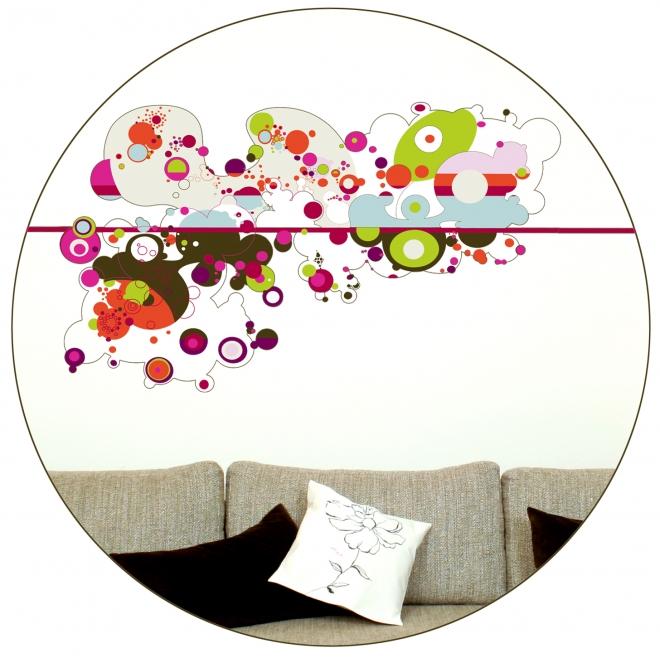 maison bois 2012 comment poser un sticker d co. Black Bedroom Furniture Sets. Home Design Ideas