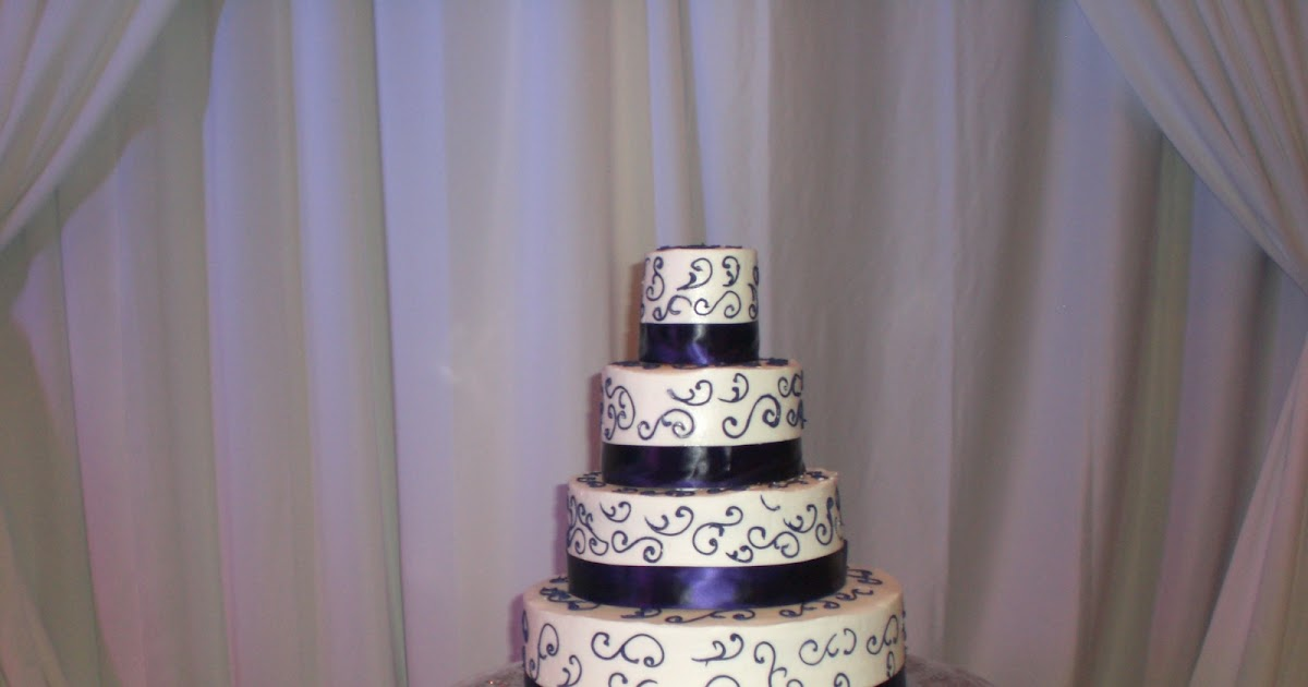 CAFE AROMAS: Darvin and Clinton's Wedding Cake