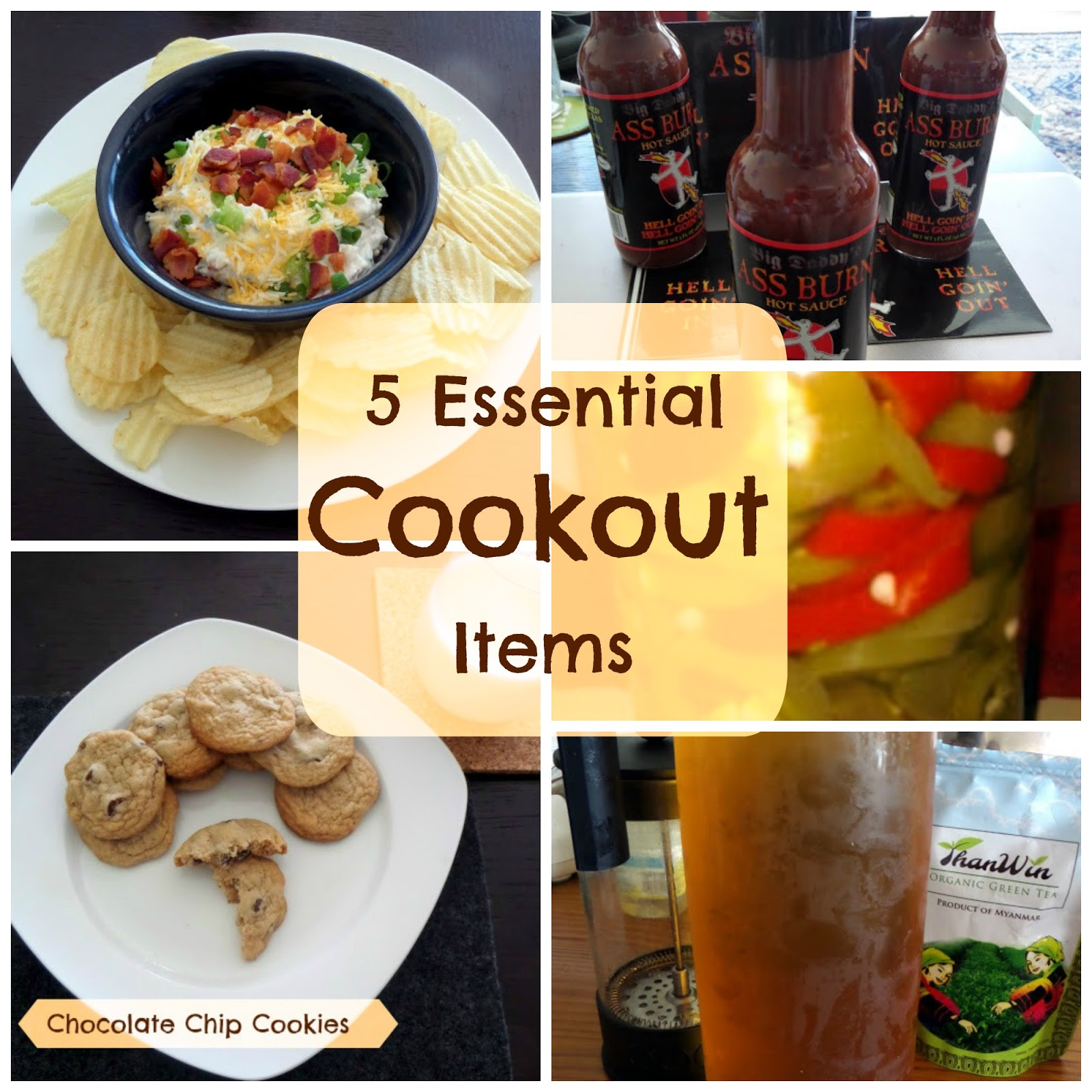 5 Cookout Essentials:  My 5 most important food items to have at a good cookout.