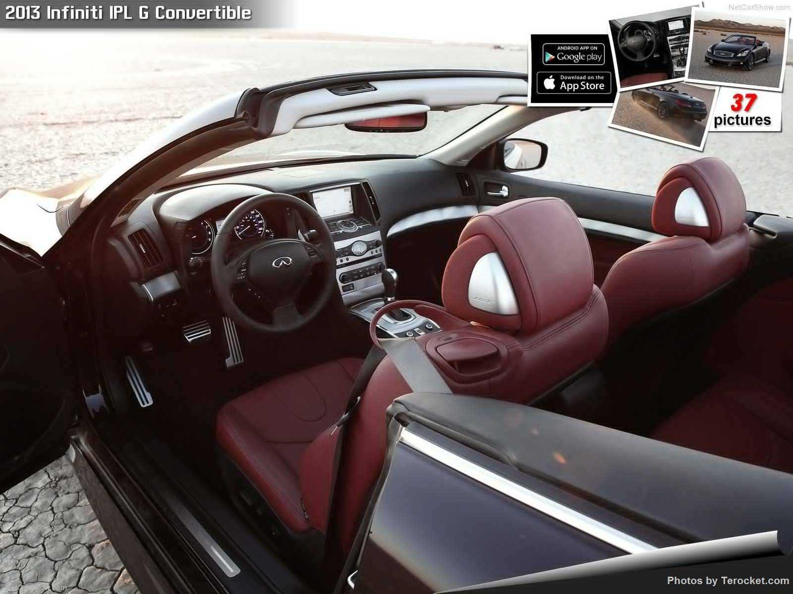 Hình ảnh xe ô tô Infiniti IPL G Convertible 2013 & nội ngoại thất