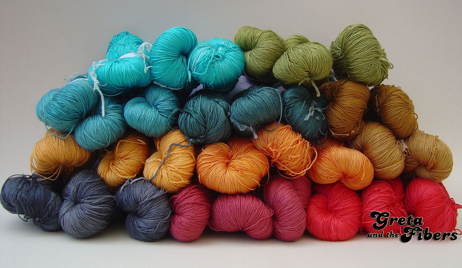 Greta and the fibers sedas y lanas te idas a mano una de - Sedas para unas ...