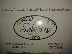 Sabores.Productos Típicos de Cádiz