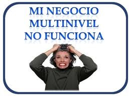 negocio multinivel no funciona