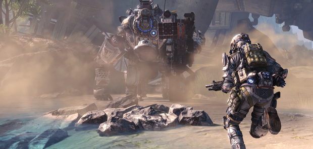 Titanfall PC Size 21g Download, 48g Installed