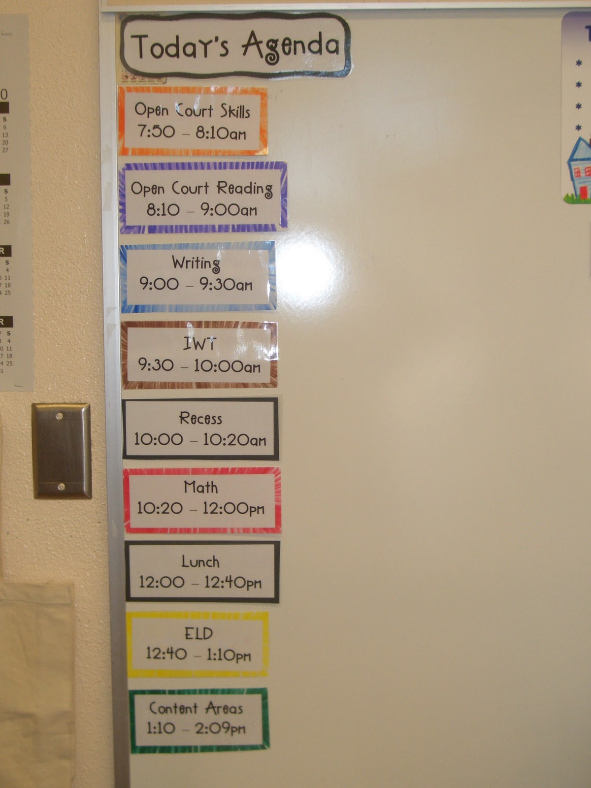 Tour Of My Room Teaching In Room 6