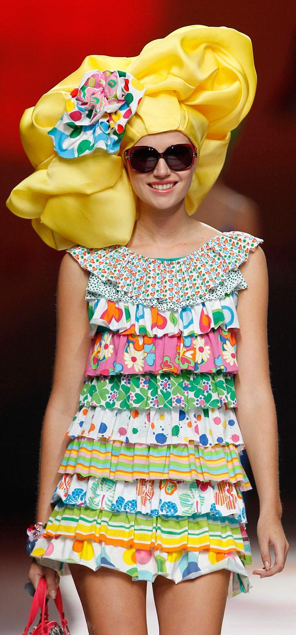 Agatha ruiz de la prada 2011 settimana della moda di - Madrid chic style ...