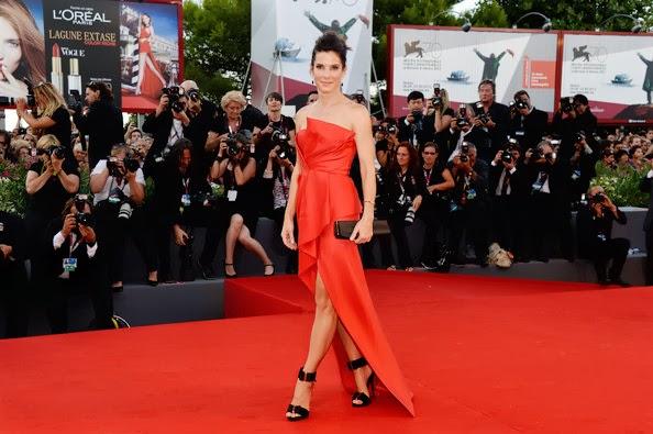 Sandra Bullock, Venice Film Festival, Gravity, J. Mendel