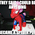 So I became a spider pony