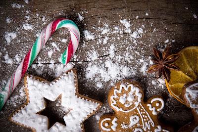Caramelos y Galletas de Jengibre para disfrutar en Navidad