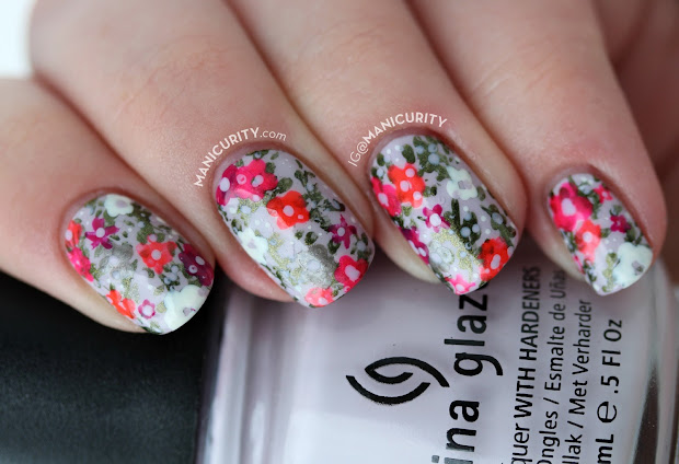 manicurity spring summer floral