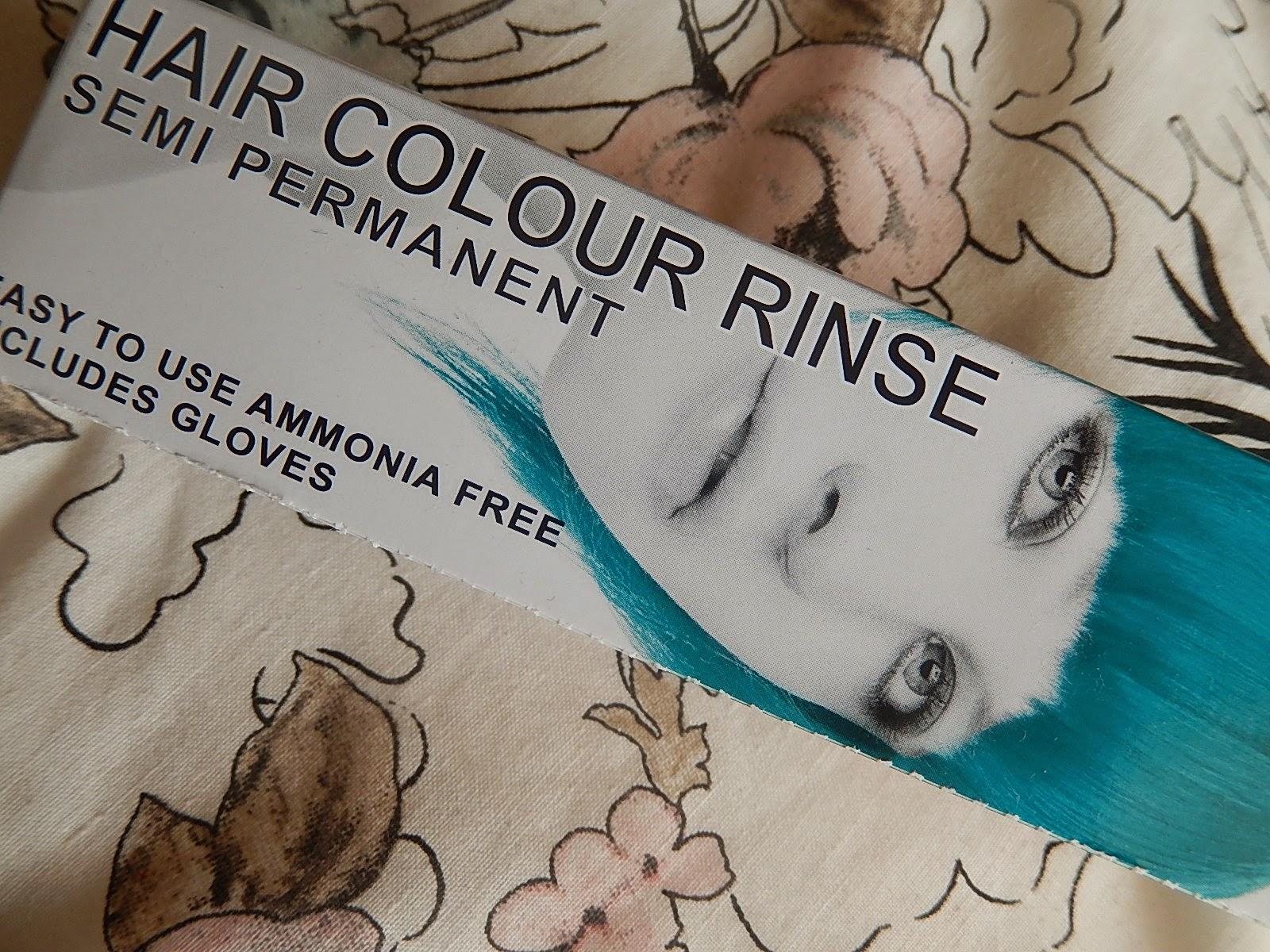 Mermaid Dip Dye Hair. Beka's Beauty, UK Beauty Blog