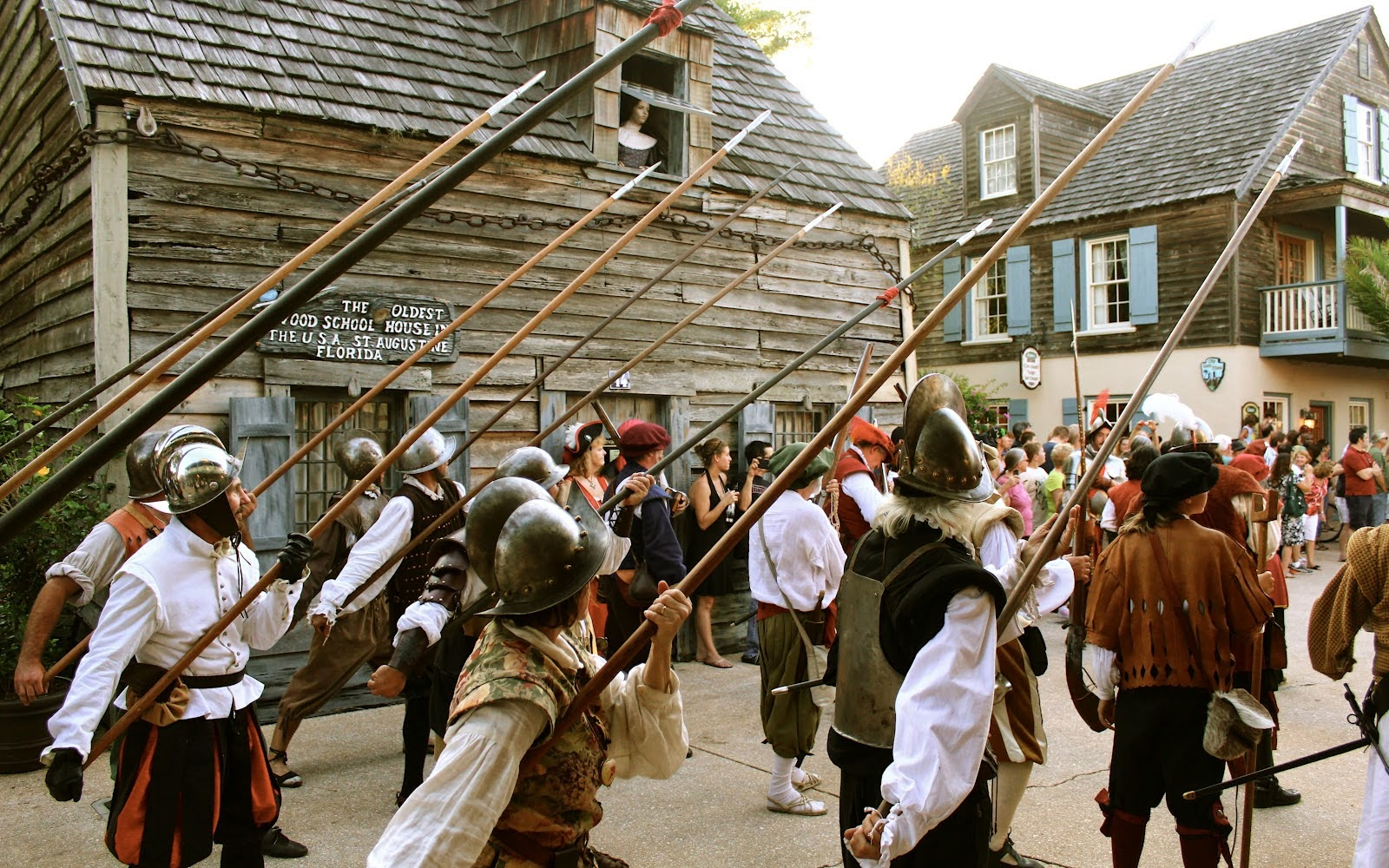 Sir Francis Drake's Raid on St. Augustine to be Re-enacted Saturday, June 7, 2014 2 Drakes+Raid St. Francis Inn St. Augustine Bed and Breakfast