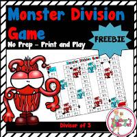Free Monster Division Game_Divisor of 3