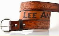 Custom name belt