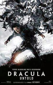 Dracula Untold (2014) English Movie Poster