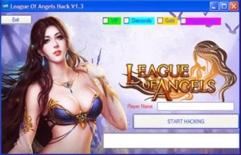League Of Angels Hacks Diamonds Unlimited