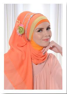 Cara Memakai Jilbab Modern Modis Sehari-hari Part 4