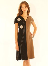 A-line dress