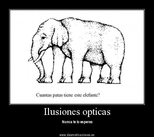 Galer a de l gica mental y frases emotivas ilusiones opticas - Ilusiones opticas para imprimir ...
