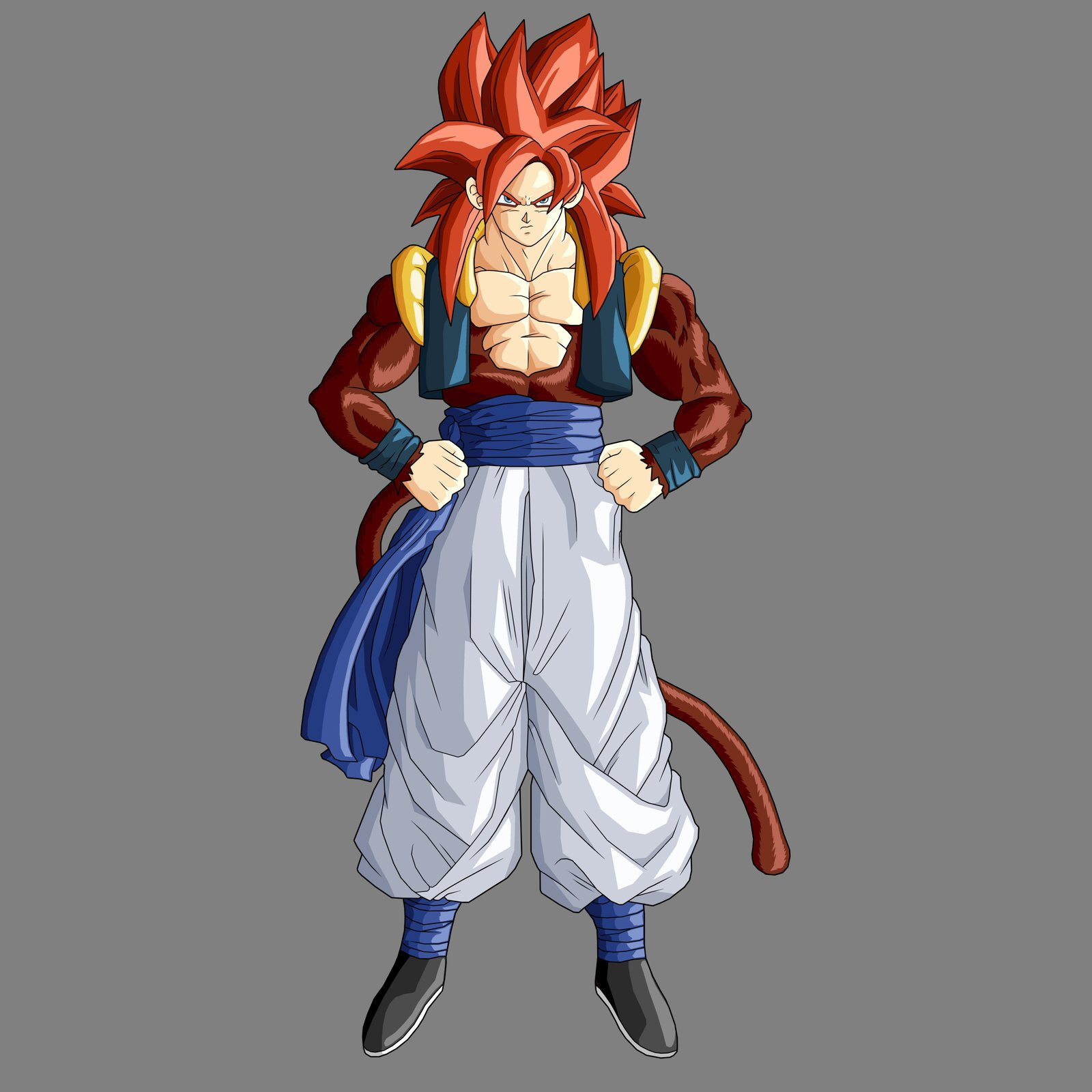 Dragon ball z super saiyan 5 gogeta