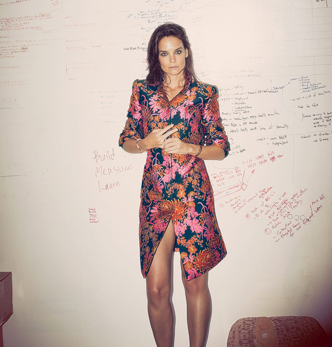 Katie Holmes in Ocean Drive Magazine
