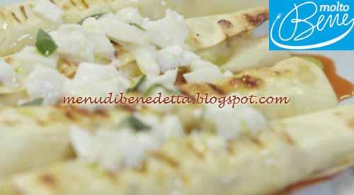 Cannelloni grigliati ricetta benedetta parodi per molto for Mozzarella in carrozza parodi