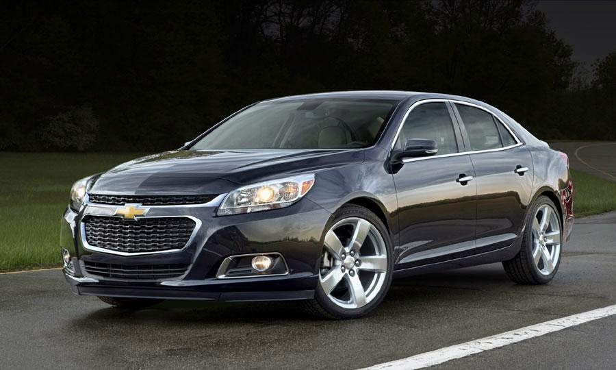 Chevrolet Malibu is IIHS 2014 Top Safety Pick+