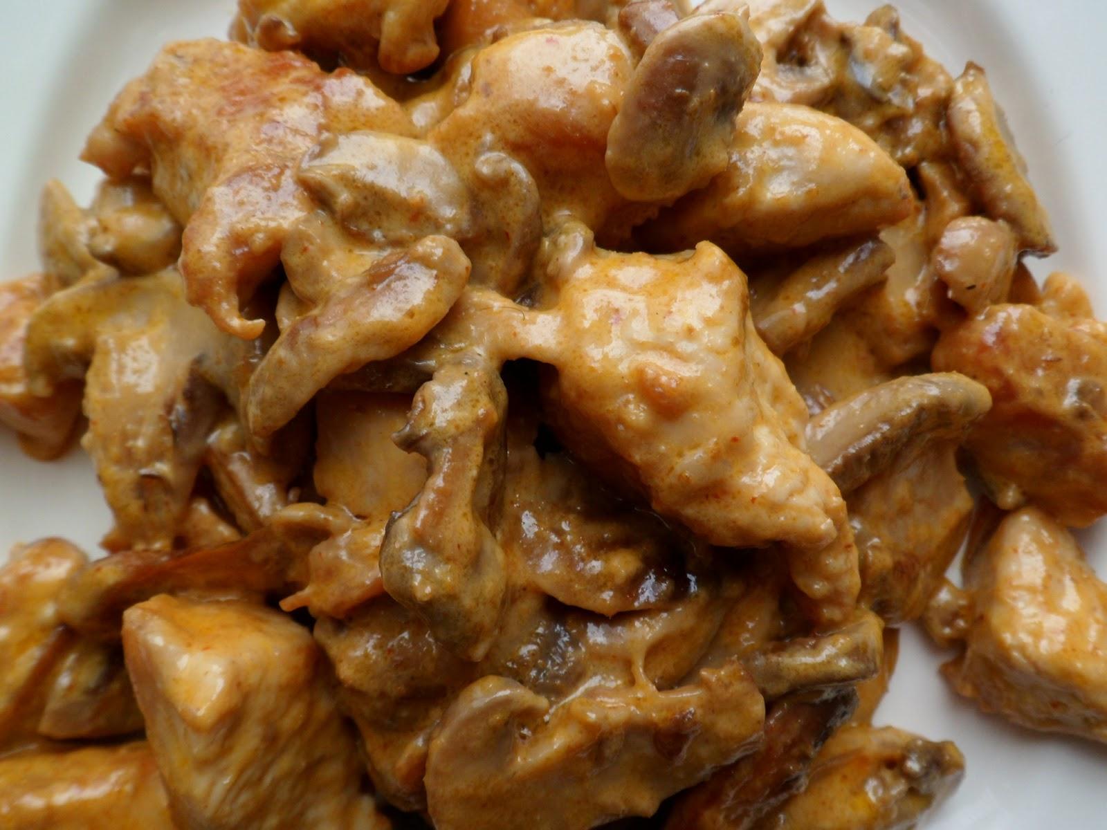 les crocs du loupinet poulet aux chignons et 224 la p 226 te de curry