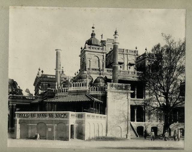 The kaiser pasund palace lucknow 1890 39 s old indian photos for Architecture design for home in lucknow
