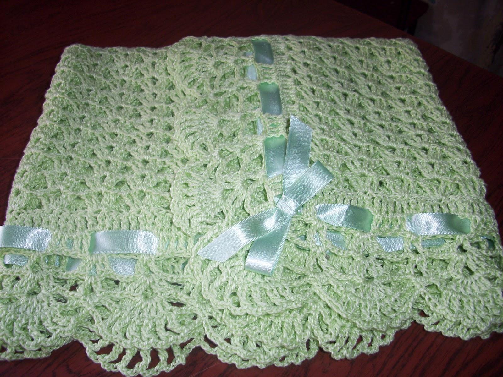 Puntos crochet para mantilla beb imagui - Manta de crochet facil ...