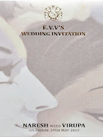 Naresh weds Virupa invitation cards-cover-photo