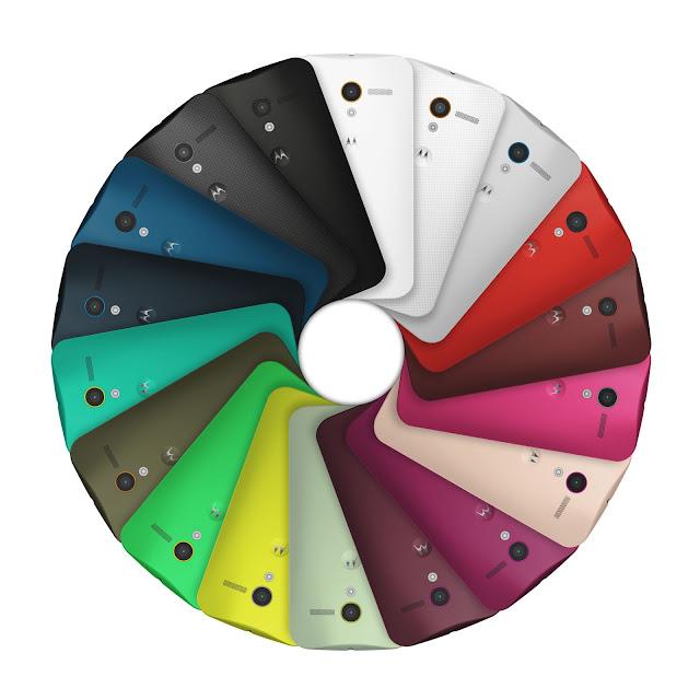 Motorola Moto X colors