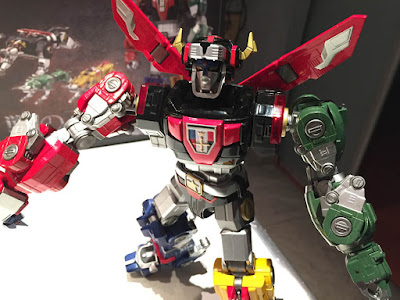 Mad Toys Voltron Golion Infinity Gokin Recensione Review