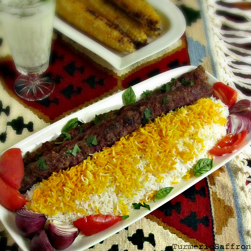 koobideh kabab Persian ground lamb kabab – kabab koobideh we eat dinner as a family pretty much every night it's something that has always worked for us but friday evenings .