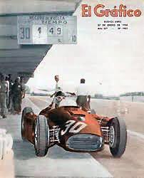 22 de enero, 1956 / FANGIO-MUSSO GANAN EL GP DE ARGENTINA DE F1