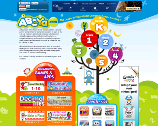 Abcya Elementary Computer Activities Games Grade Level Second