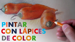 PINTAR CON LÁPICES DE COLOR
