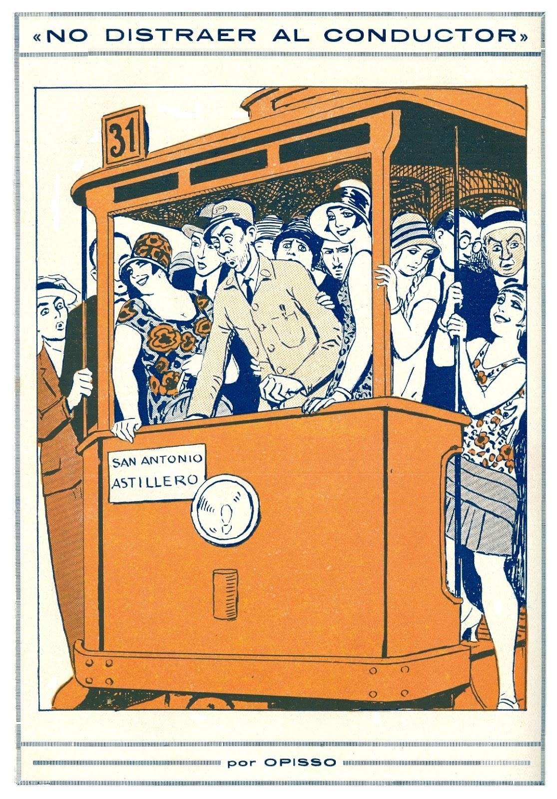 Revista Papitu, novembre 1927, portada per Ricard Opisso